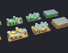 3D model Canned Food