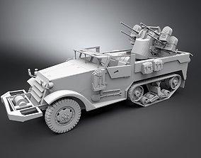 M16 Half track Scale model