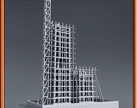3D model structure Building Construction
