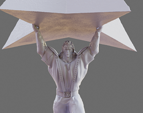 SHU - FIST OF THE NORTH STAR 3D MODEL PRINT kenshiro