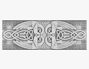 Celtic Ornament 3D model