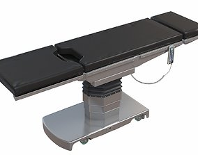 3D model Surgical Bed