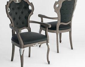 3D model Seven Sedie Alcide Armchair