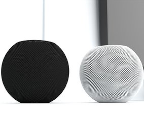 3D Apple New HomePod Mini 2020