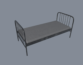 Prison Bed 3D asset