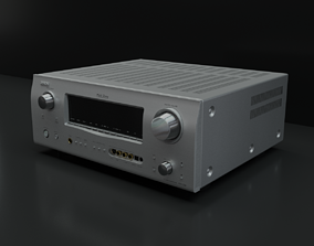 Denon Receiver 3D model