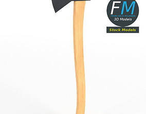3D model PBR Axe hatchet