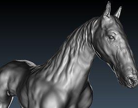 sculptures horse 3D print model
