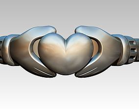 3D printable model claddagh ring best top high detailed