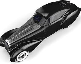 Delage D8 120 S Pourtout Aero Coupe black 3D