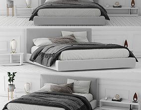 3D model Richard Bed BeB Italia