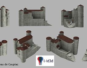 Castle 3D printable model