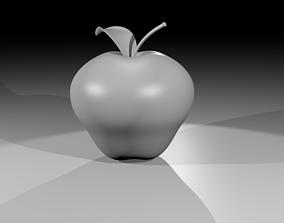 Apple Untextured 3D model