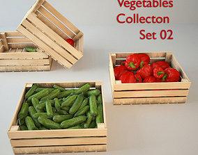 Vegetables Set 02 3D model