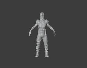 3D model High Poly Royal Knight