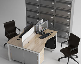 3D model Office Furniture monitor