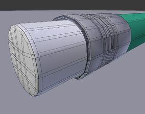 draw pencil 3D model