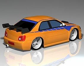 Import Street Racer 3D model