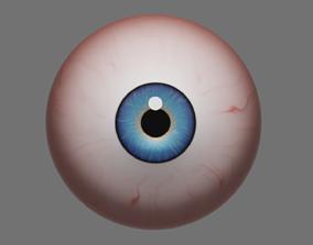 Procedural Eyeball 3D asset