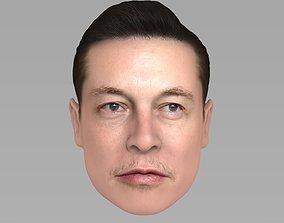 3D model Elon Musk