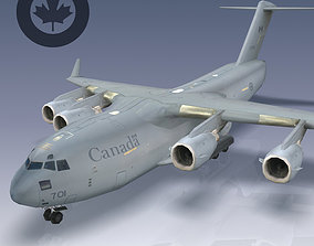 3D Canadian Air Force CC-177 Globemaster III