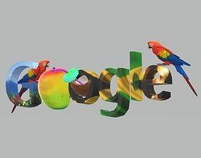 Tropical google 3D model