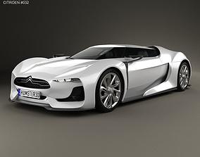 3D model Citroen GT 2008