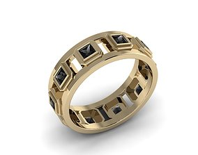 3D print model Men Jewerly Ring 022