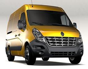 Renault Master L1H2 Van 2010 3D model