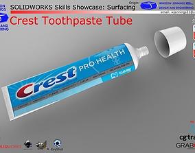 SW Skills - Crest Toothpaste Tube 3D