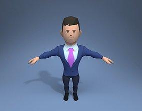 3D asset Office Worker