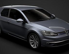 VW Golf TSI Bluemotion 3door Typ5G 2019