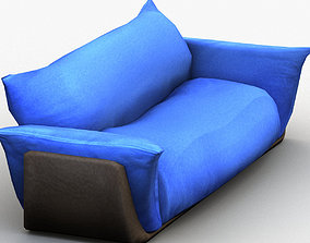 Two Seat Sofa 3D