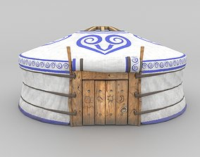 VR / AR ready 3D Model Yurt - nomads tent