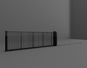 3D Outdoor Gate