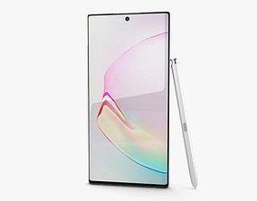 3D Samsung Galaxy Note 10 Plus Aura White