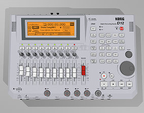 3D Digital Multitrack Recorder - Korg D12