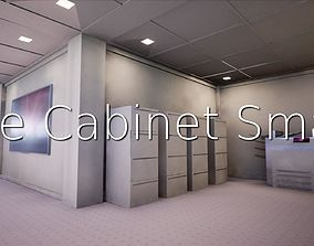 3D model File Cabinet Small SHC Quick Office LM