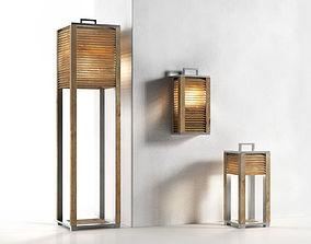 Ginger Outdoor Lamps 3D model