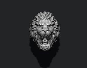 Man Lion ring 3D print model