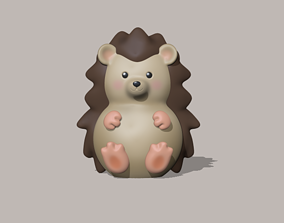 A cute Hedgehog to decorate and play 3D printable model