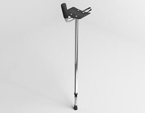 Walking Crutch - Gutter 3D
