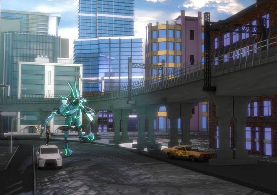 Cartoon 3D renderings