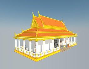 3D model khmer architecture