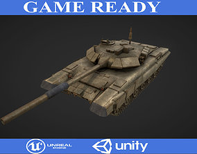 3D model realtime T90 Tank