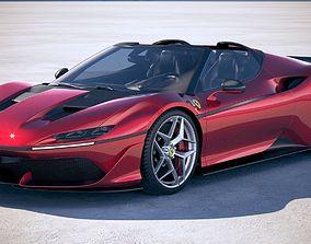 3D model Ferrari J50 2017