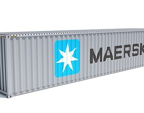 Shipping Container Maersk 3D