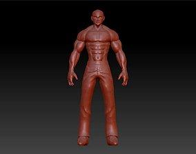 3D print model Sport fit man
