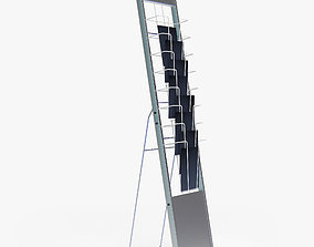 3D brochure stand Tango V-holder