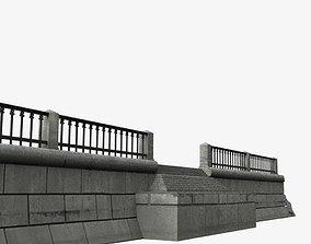 3D asset Modular embankment